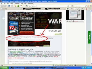 paste the link download box