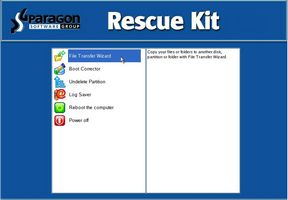 Rescue kit mainpage